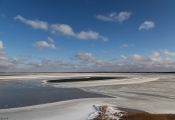 No.54 Is på Flade sø i marts