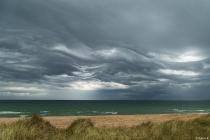 No.193 Meget specielle skyer over Vesterhavet
