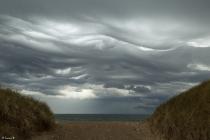 No.194 Meget specielle skyer over Vesterhavet 2