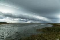 No.195 Meget specielle skyer - Roddenbjerg sø
