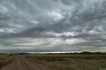 No.197 Meget specielle skyer over Lodbjerg
