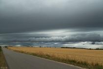No.196 Meget specielle skyer over Lodbjergvej