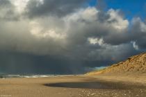 No.218 Lyngby strand i januar